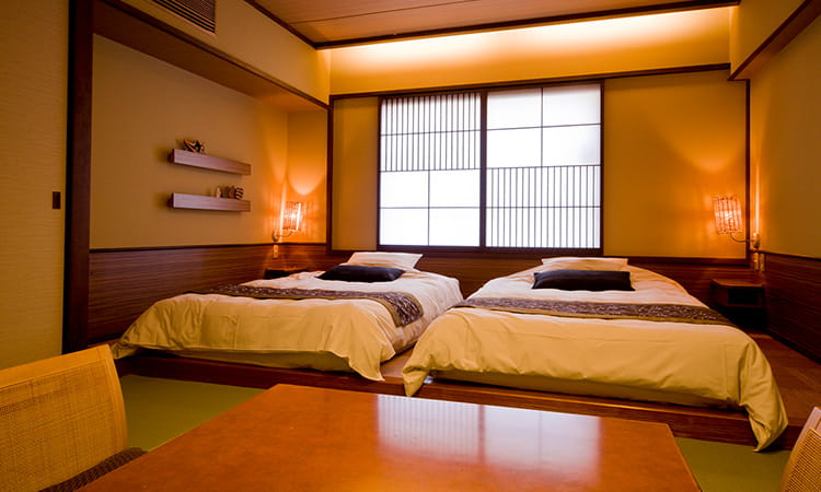 Chambres de style mixte : japonais et occidental Japanese modern